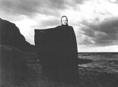 A nice, relaxing day at the beach, Ingmar Bergman style.