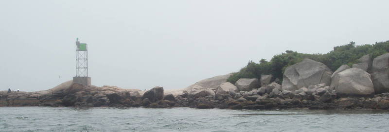 The eastern end of The Nubble.