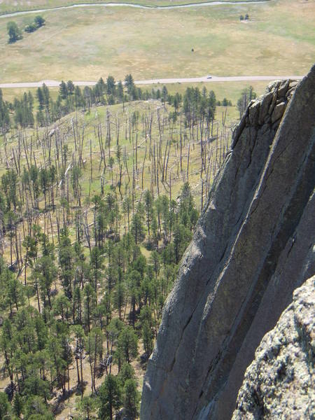 Belle Fourche Buttress.  July 2007