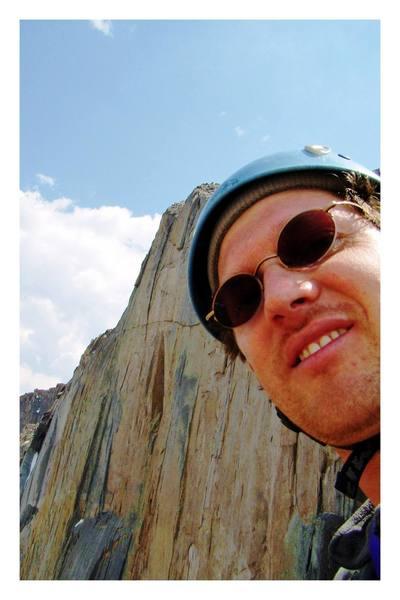 Self Portrait.  Longs Peak, June 2007.