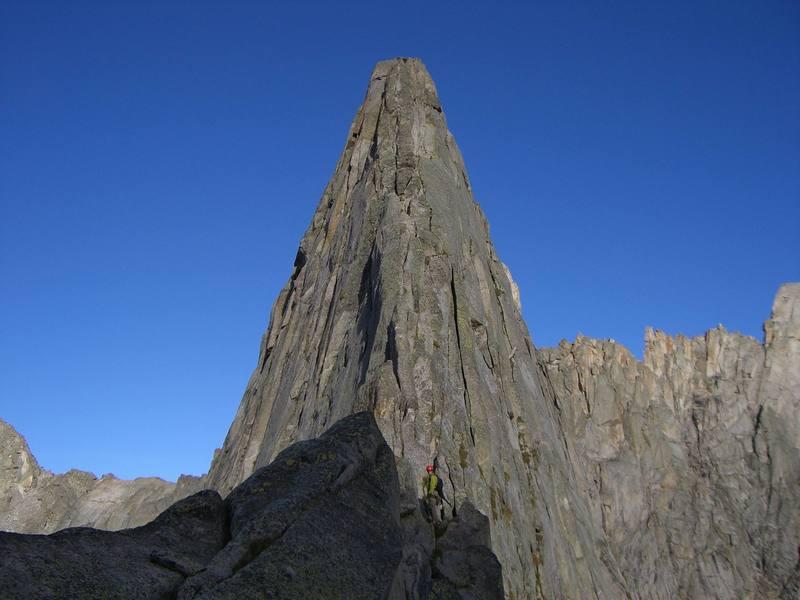 Wolf's Head east ridge