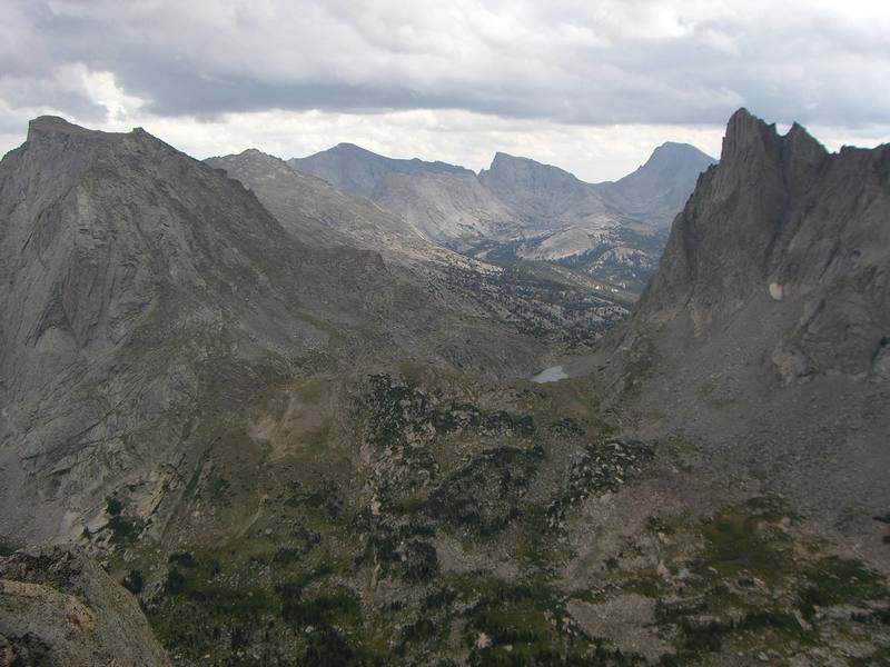 The view from the top of Pingora