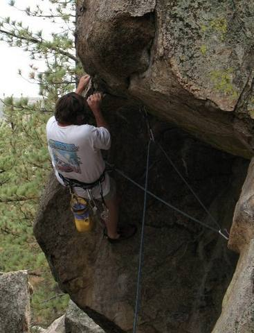 Don't let this happen to you, Holcomb Valley Pinnacles