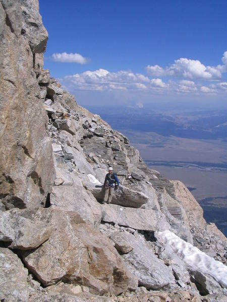 Final Scramble to the Summit of the Grand Teton