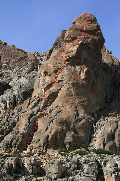 A route we did at the Fray