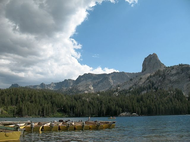 Crystal Crag from Lake George, Mammoth Lakes Basin