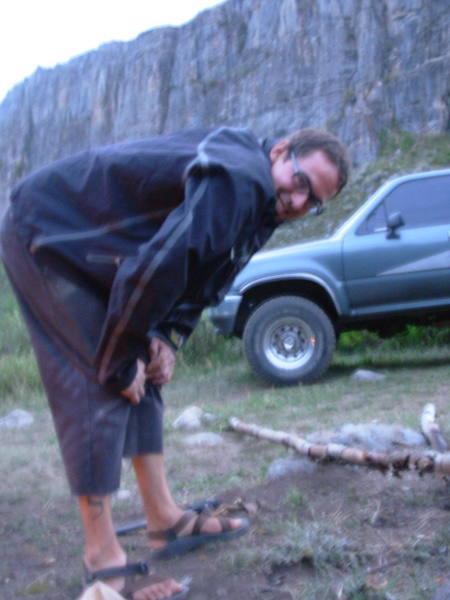 I love breaking fire wood. Ask anyone.