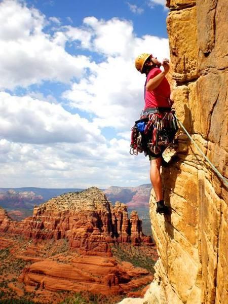Me on 4 flying apaches - sedona, AZ