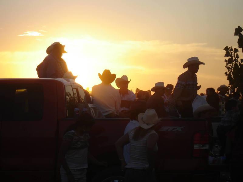 Cowboys in Idaho
