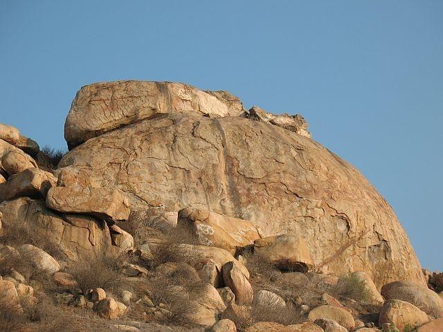 Joe Brown Boulder, Mt. Rubidoux