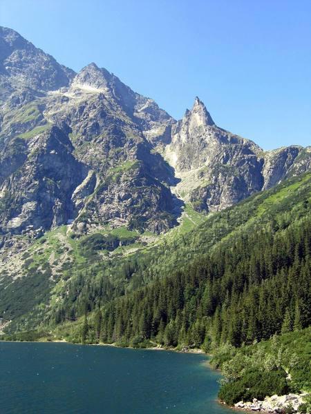 Mnich (Monk) panorama of the ridge