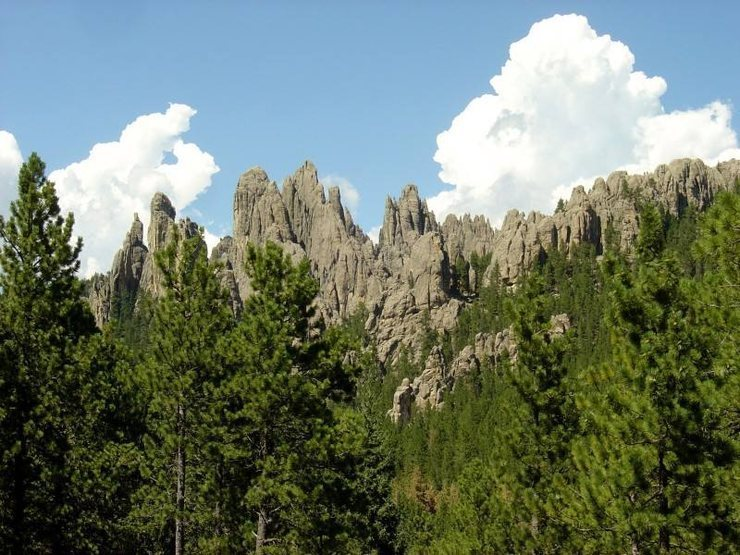 The Spires from the south.  Amazing place.