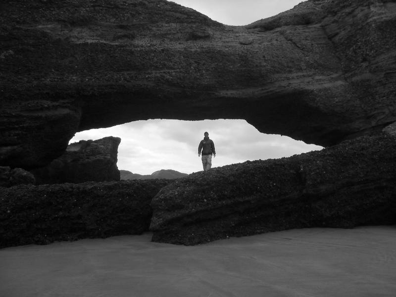 This place was like Arches National Park by the sea...