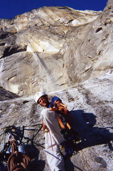 Finished with the freeblast and on to bigger things. Photo: Diamond Dave<br> Sept. 2001