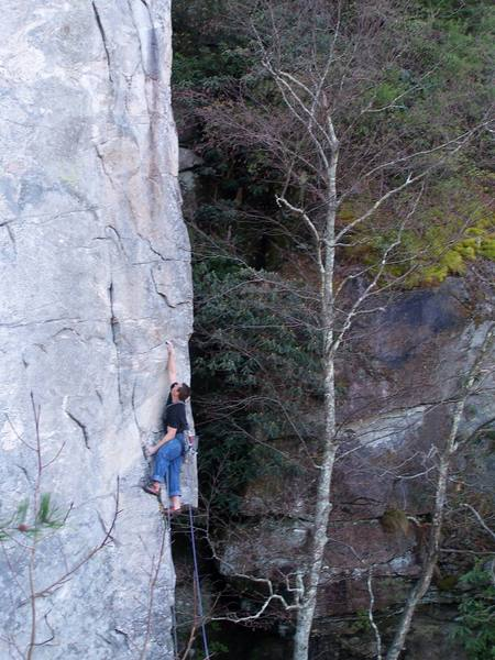 Tim Raymer on Cougar Crag project