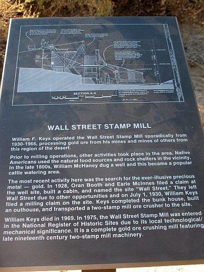 Stamp Mill display, Joshua Tree NP
