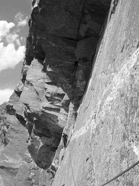 Second at the beginning of the Great Traverse.
