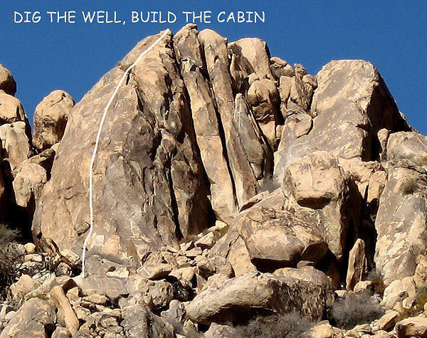 """Dig The Well, Build The Cabin"".<br> Photo by Blitzo."