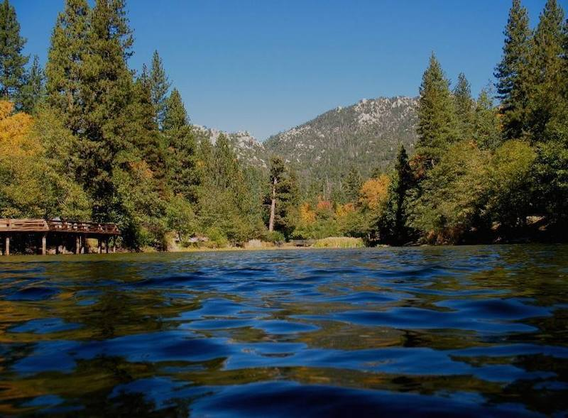 Black Mt. from Lake Fulmor, San Jacinto Mountains