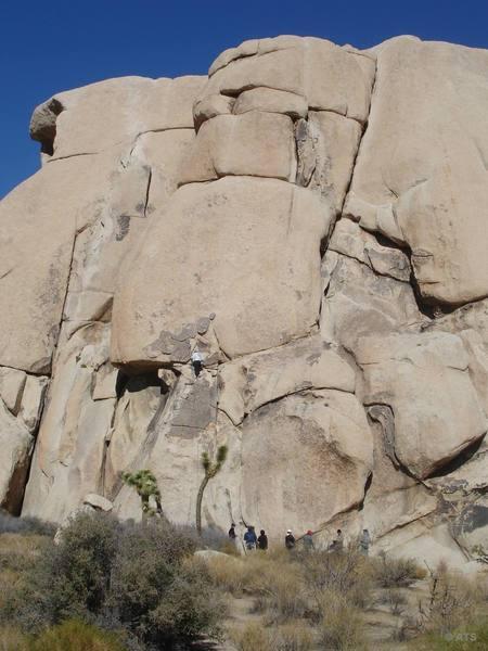 Climber on Billabong