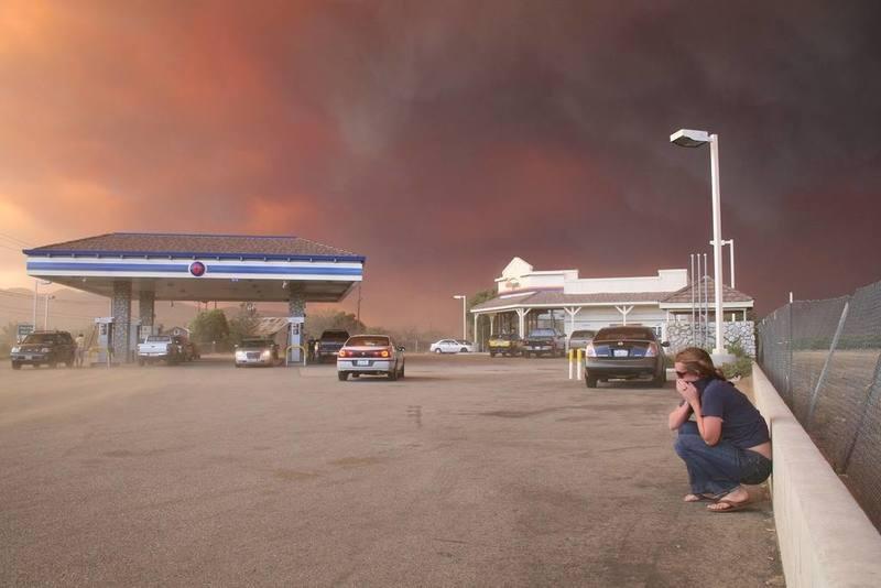 firestorm 2 Photo  by Brett Williams