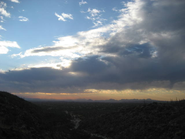 view towards tucson