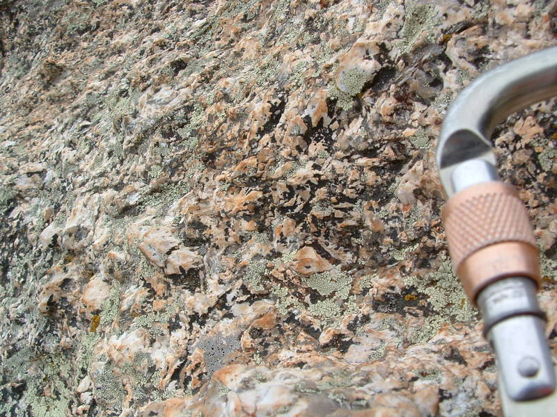 Nice looking rock on the Murray Wall