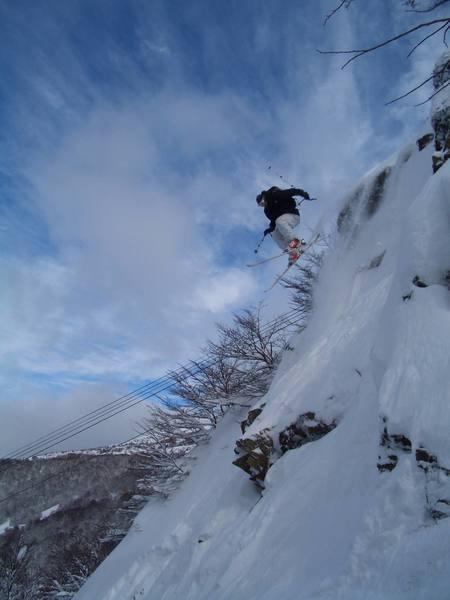Skier: Austin Porzak  Location: Cerro De Catedral Argentina  Photo taken by Will Brown