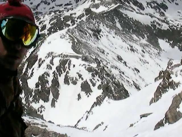 Skier: Austin Porzak  Location: Darth Vader Couloir Indian Peaks Colorado  Photo taken by JC