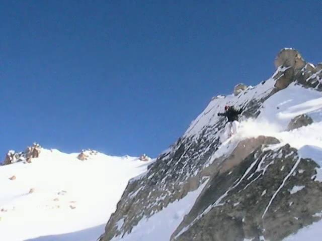 Skier: Austin Porzak  Location: Cerro De Catedral Backcountry