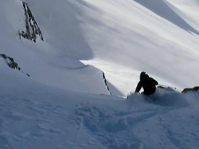 Skier: Austin Porzak  Location: Chile Backcountry Valle Heli  Photo taken by David Dean