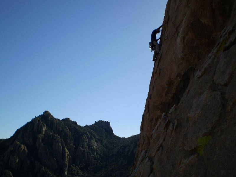 What a beautiful climb.