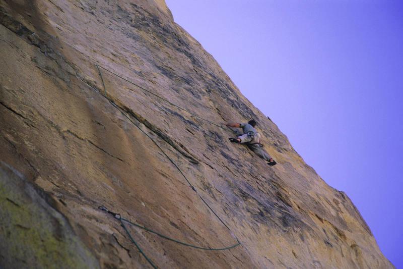 The traverse. April '06.