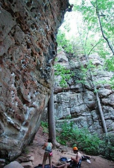 God this route rocks! Fuzzy Undercling