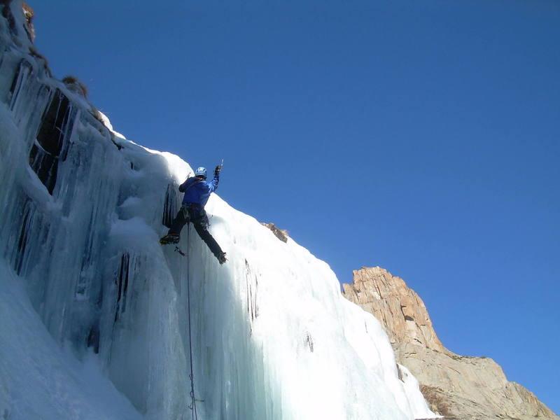 No mixed climbing here.