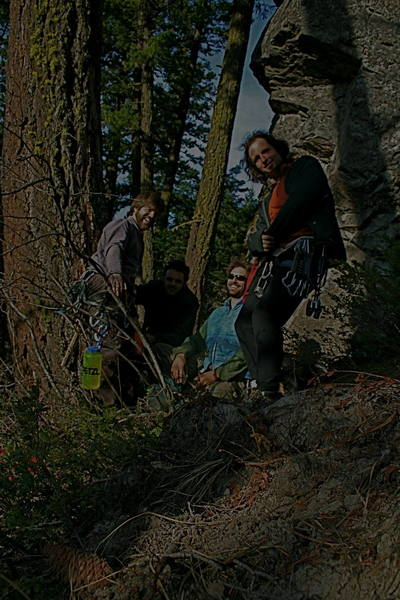 Elmo, Reed, Ben, Rick at Wolf Point