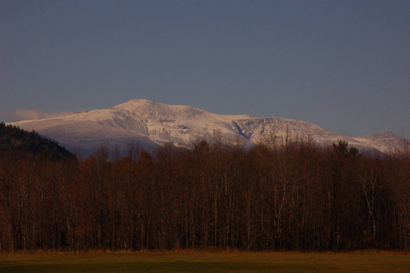 Mount Washington from Cathedral Ledge.