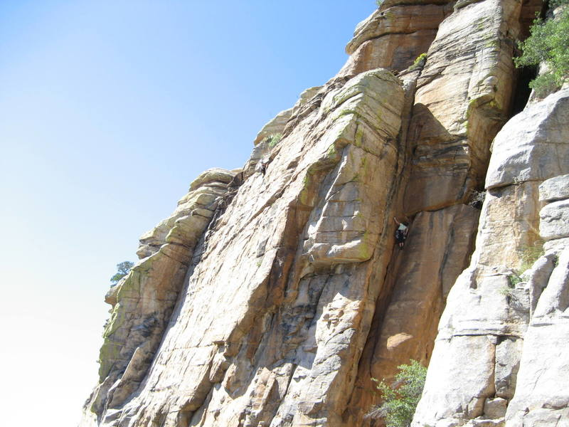 Has anyone ever been to this crag before 2007?