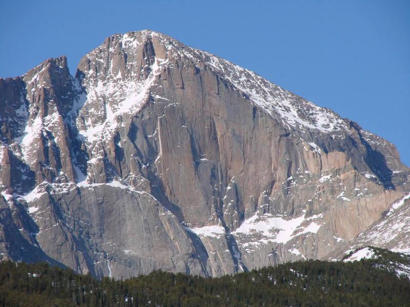 The Diamond, Long's Peak, RMNP.