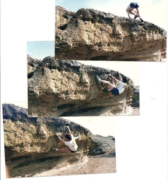 bouldering on top of the christian brothers formation
