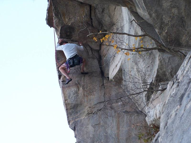 Phil Trew seconding Curpin Crack