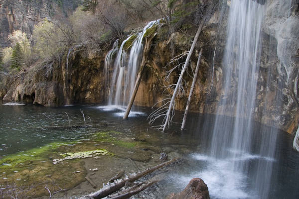 If you're looking for a little rest from climbing and want a nice hike around Glenwood, join the flocking tourists to Hanging Lake. Despite the crowds, it's still worth it.