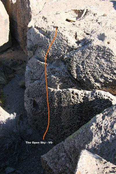 The Church of the Lost and Found Wall, Main rightside - Topo