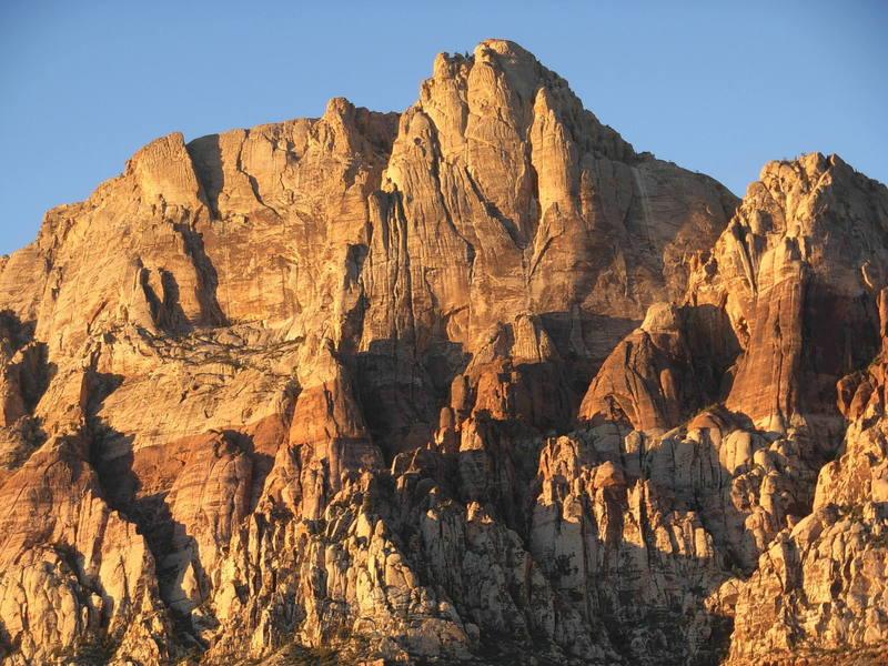 Mt. Wilson at dawn