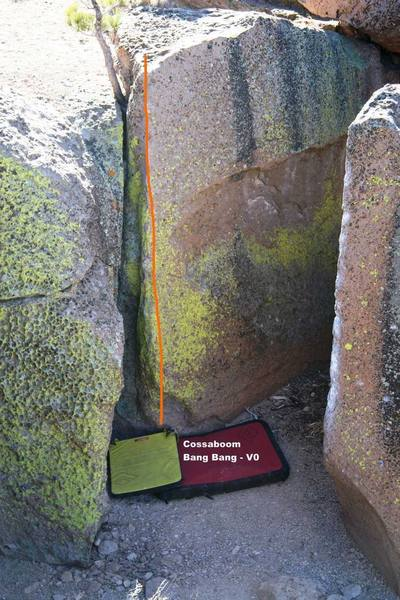 The Church of the Lost and Found Wall, rightside - Topo