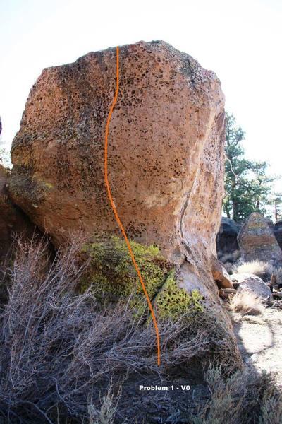 Shooter Boulder North Face Topo