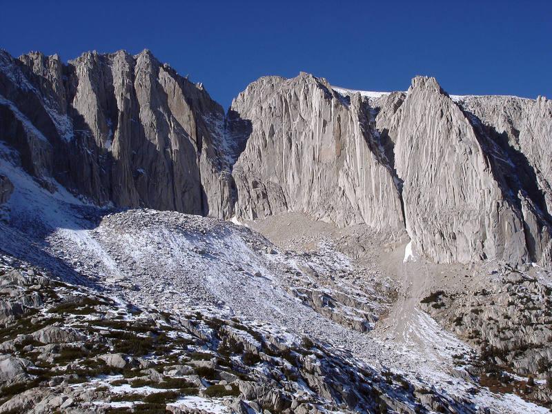 3 beautiful alpine walls.  Cracks and corners everywhere.