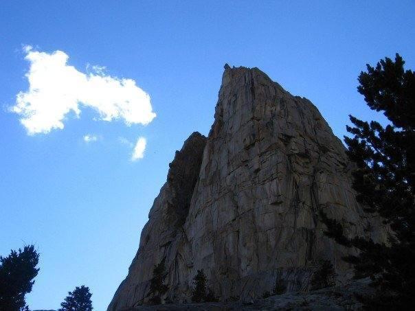 Random wall in Wyoming