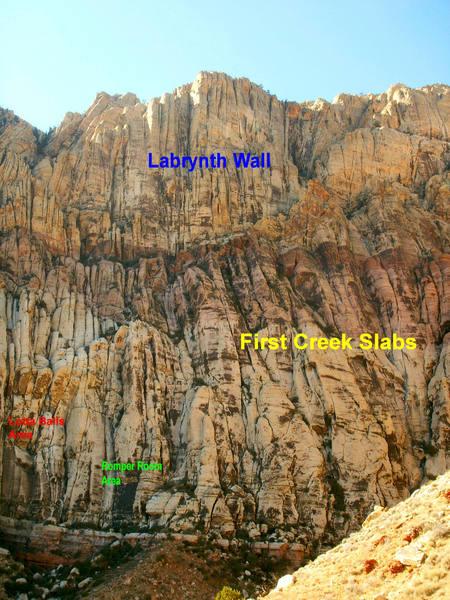 First Creek Walls