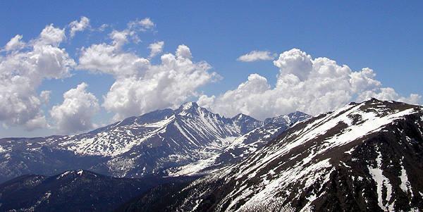 Long's Peak.<br> <br> Photo by Blitzo.
